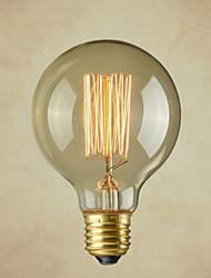 cheap -1pc 40 W E26 / E26 / E27 G80 Warm White 2300 k Incandescent Vintage Edison Light Bulb 220-240 V / 110-130 V