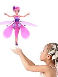 Недорогие -Вертолет Hovering Angel 2-канальный зAвисать / Дистанционное управление Пульт управления / Летающая фея Принцесса / Радужный свет