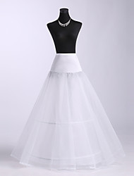 cheap -Polyster Ball Gown Two Tier Floor-length Petticoats