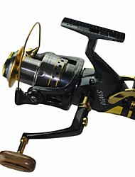 cheap -Fishing Reel Carp Fishing Reels 5.2:1 Gear Ratio+10 Ball Bearings Hand Orientation Exchangable Sea Fishing / Spinning / Freshwater Fishing - SW60 / General Fishing / Trolling & Boat Fishing