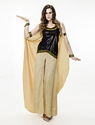 cheap -Egyptian Costume Cosplay Costume Women's Halloween Carnival Festival / Holiday Spandex Sequin Women's Carnival Costumes