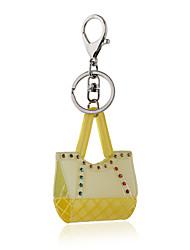 Недорогие -2016 желтый акриловые краски кристалл брелок для ключа ювелирных изделий цепи сумки брелок автомобиля женщины ключевое кольцо подарки