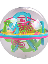 cheap -New Mini 3D Maze Magic Ball 100 Level Intellect Ball Children Education Puzzle Toys Orbit Game Intelligence Away Gift