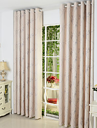"cheap -Ready Made Eco-friendly Curtains Drapes Two Panels 2*(42W×84""L) / Jacquard / Living Room"