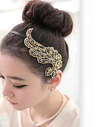 cheap -phoenix cloth art hair hoop hair accessories angel wings hair headwear pnd tail on wide band