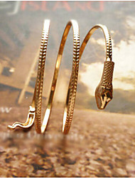 cheap -Bracelet Bangles Unique Design Vintage Party Work Fashion Gold Plated Bracelet Jewelry Screen Color For Party Gift Valentine