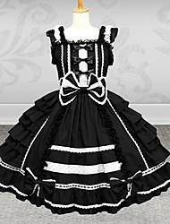 cheap -Dress Sweet Lolita Dress Women's Lolita Accessories Cotton Halloween Costumes