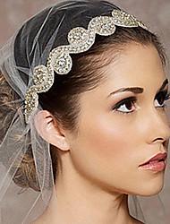 Недорогие -невеста волосы европейский стиль полноценного волос алмазов привести акт роль невесты