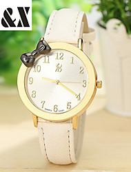 cheap -Women's Wrist Watch Quartz Leather Black / White / Brown Hot Sale Analog Ladies Charm Fashion - Coffee Green Pink