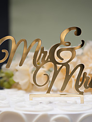 cheap -Cake Topper Classic Theme Classic Couple Hard Plastic Wedding Anniversary Bridal Shower with 1 OPP