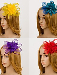 cheap -Flower Fascinators Hair jewelry