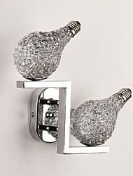 cheap -Modern Contemporary Wall Lamps & Sconces Metal Wall Light 110-120V / 220-240V 2*20 W / G9