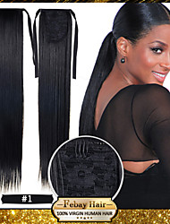 cheap -hot selling 22inch 55cm 100g pcs fashion ponytail hairpieces braid straight synthetic ponytail