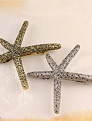 cheap -South Korea  Sell Like Hot Cakes Starfish  Retro Metal Hair Clips
