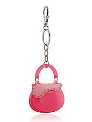 Недорогие -2016 розовый акриловый кристалл брелок для ключа цепь седло мешок ювелирных изделий сумки брелок автомобиля женщин брелок оптовой подарок