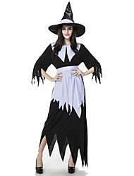 cheap -Angel / Devil Vampire Movie / TV Theme Costumes Cosplay Costume Women's Halloween Carnival Festival / Holiday Polyester Women's Carnival Costumes / Headwear