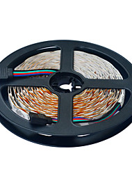 cheap -JIAWEN 5m Flexible LED Light Strips 300 LEDs 3528 SMD 10mm RGB Cuttable  Linkable DC 12V /IP44