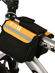 cheap -BOI 1.9 L Cell Phone Bag Bike Handlebar Bag Waterproof Wearable Shockproof Bike Bag Cloth 600D Ripstop Bicycle Bag Cycle Bag iPhone X / iPhone XR / iPhone XS Cycling / Bike / Waterproof Zipper