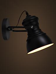 cheap -Art Deco Wall Sconces Lamp Industrial Iron Signboard Loft Wall Lamp