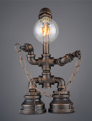 cheap -Vintage Retro Robot Pipe Table Lamp Table light One light