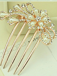 cheap -Side Combs Hair Accessories Pearl Wigs Accessories Women's pcs 11-20cm cm