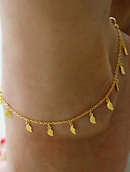 cheap -Women's Anklet Tassel Ladies Tassel Vintage Party Work Anklet Jewelry Screen Color For Daily