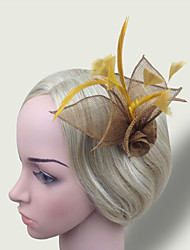 cheap -Women Fabric Hair Clip , Cute / Party Simple Flower  Headpiece