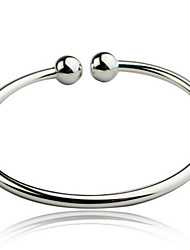 cheap -Women's Vintage Bracelet Ladies Open Sterling Silver Bracelet Jewelry Silver For Christmas Gifts Daily Casual Sports