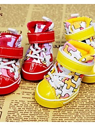 cheap -Socks & Boots for Dogs / Cats Spring/Fall Wedding / Cosplay XS / S / M / L / XL / XXL PU Leather