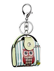 Недорогие -2016 акрил цепочка для ключей держатель высокосортной мультфильм Сова картины ювелирные изделия сумки брелок автомобиля женщин брелок