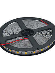 cheap -JIAWEN 5m Flexible LED Light Strips 300 LEDs 5050 SMD 10mm Warm White / White Cuttable / Suitable for Vehicles / Self-adhesive 12 V 1pc