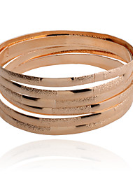 cheap -Women's Bracelet Bangles Ladies Alloy Bracelet Jewelry Silver / Golden For Party Daily Casual