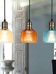 cheap -Pendant Light Downlight Glass Glass LED White Bulb Not Included