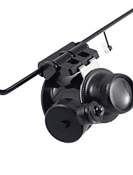 cheap -Monocular Magnifiers/Magnifier Glasses High Definition LED Weather Resistant Fogproof Generic Wide Angle Headset/Eyewear 20 25 Plastic
