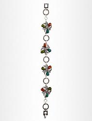 cheap -Fashion Bracelet Women European Style Multicolor Flower Chain Bracelet