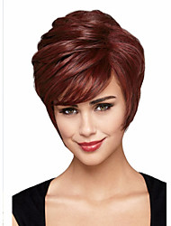 cheap -Synthetic Wig Curly Curly Wig Short Brown Synthetic Hair Women's Brown