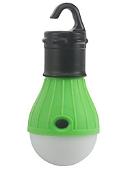 cheap -Lanterns & Tent Lights LED - Emitters 10 lm 1 Mode Emergency Camping / Hiking / Caving Outdoor Green
