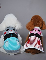 cheap -Cat Dog Coat Sweater Winter Dog Clothes Blue Pink Costume Cosplay Wedding XS S M L XL
