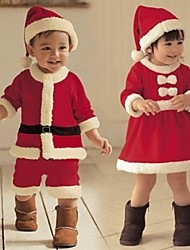 cheap -Santa Suit Vampire Holiday Jewelry Unisex Christmas Festival / Holiday Nonwoven Fabric Red Carnival Costumes / Top / Hat