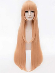 cheap -Synthetic Wig Straight Straight Wig Blonde Long Yellow Synthetic Hair Women's Blonde