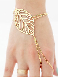 cheap -Women's Chain Bracelet Cheap Ladies Unique Design Vintage Casual Fashion Brass Bracelet Jewelry Gold For Party Birthday Gift Cosplay Costumes