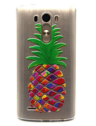 cheap -Case For LG G3 / LG LG Spirit / LG C70 H422 Transparent Back Cover Fruit Soft TPU