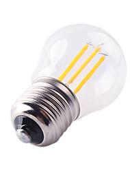cheap -HRY 1pc 4 W LED Filament Bulbs 360 lm E26 / E27 G45 4 LED Beads COB Decorative Warm White Cold White 220-240 V / 1 pc / RoHS