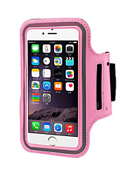 cheap -Case For iPhone 6s Plus / iPhone 6 Plus / iPhone 6s with Windows / Armband Armband Solid Colored Soft Textile
