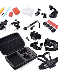 cheap -Anti-Fog Insert Case / Bags Screw Convenient For Action Camera Gopro 4 Gopro 3 SJ4000 Nylon Platinum / Suction Cup / Tripod