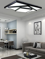 cheap -Geometric Flush Mount Ambient Light - LED, 90-240V, Warm White / White, LED Light Source Included / 10-15㎡ / LED Integrated