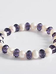 abordables -Femme Perle dames Grappe Classique Bracelet Bijoux pour Mariage Soirée Occasion spéciale Anniversaire Fiançailles Cadeau
