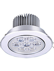 abordables -1pc 7w 7leds facile installer encastré plafonniers led led downlights chaud blanc froid 85-265v blanc maison / bureau