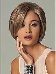 cheap -Synthetic Wig Straight Straight With Bangs Wig Blonde Short Blonde Synthetic Hair Women's Blonde