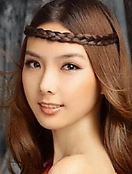 cheap -Korean Wig Braided Hair Bands Stretch Headband